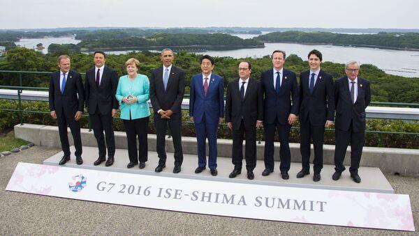Představitelé států G7 - Sputnik Česká republika
