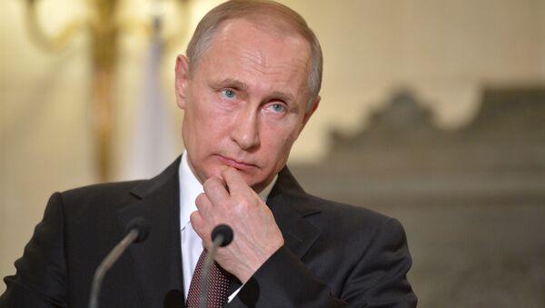 Vladimir Putin v Řecku - Sputnik Česká republika