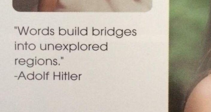 Výrok Adolfa Hitlera
