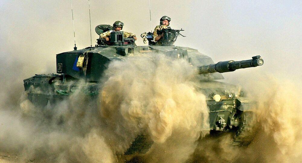 Britští tankisté