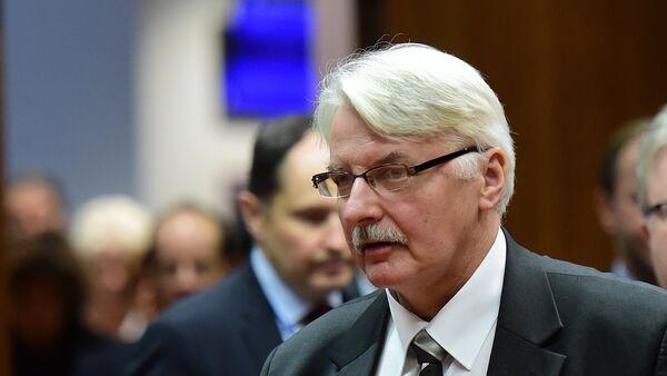 Witold Waszczykowski - Sputnik Česká republika