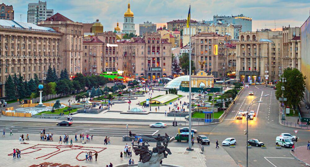Náměstí Nezávislosti v Kyjevě
