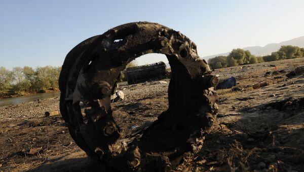 Následky leteckého útoku - Sputnik Česká republika