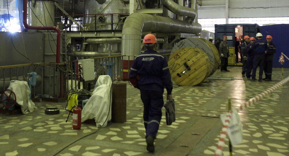 Jihoukrajinská jaderná elektrárna