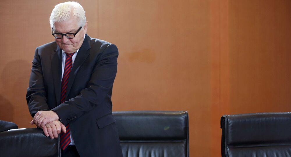 Šéf německé diplomacie Frank-Walter Steinmeier