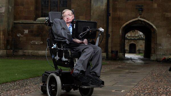 Fyzik Stephen Hawking v Cambridge - Sputnik Česká republika