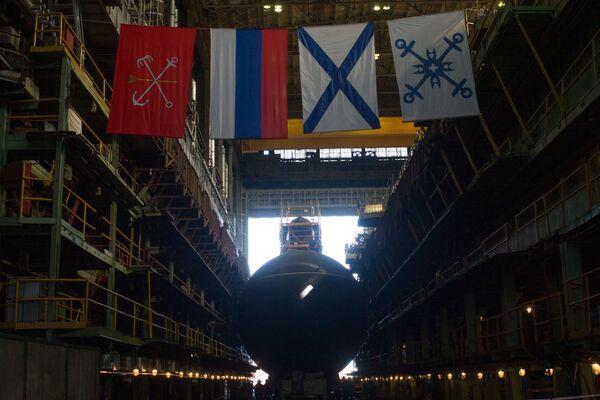 """Další """"černá díra"""": spouštění ponorky Kolpino na vodu - Sputnik Česká republika"""