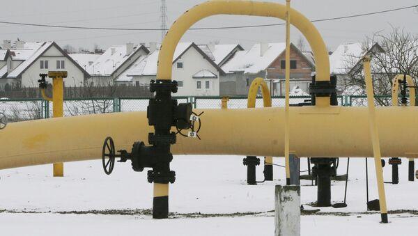 Plynová stanice v Polsku. Ilustrační foto - Sputnik Česká republika
