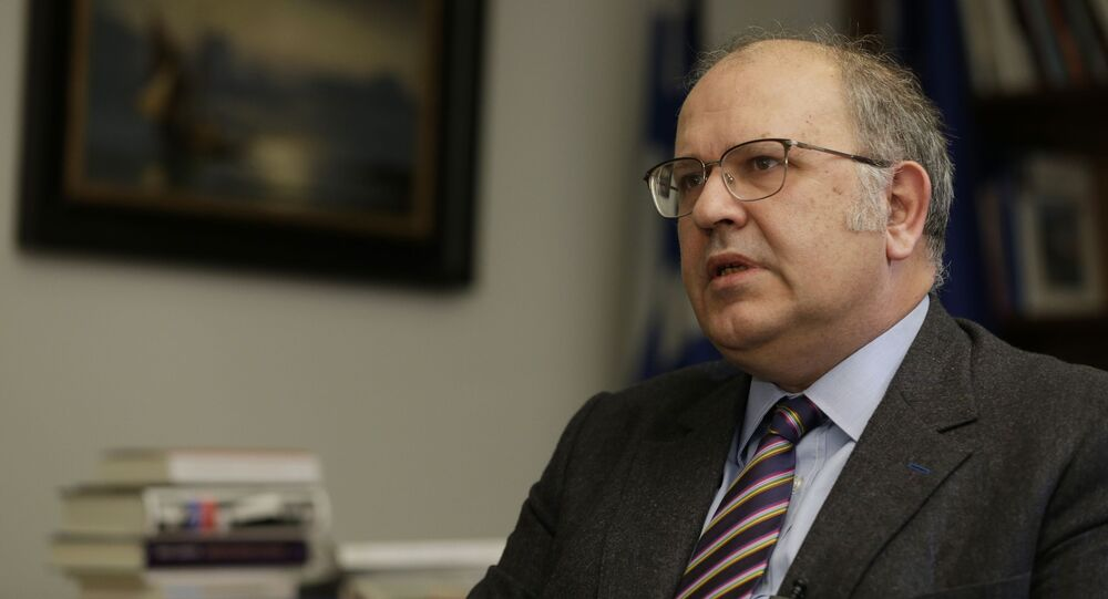 Náměstek šéfa řecké diplomacie Nikos Ksidakis