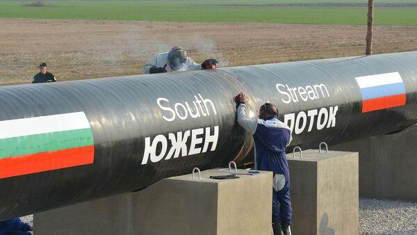 Budování Jižního proudu - Sputnik Česká republika