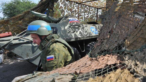 Ruské mírové síly v Podněstří - Sputnik Česká republika