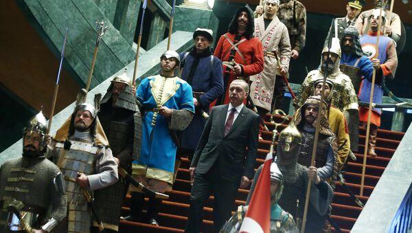 Turecký prezideent Recep Tayyip Erdogan - Sputnik Česká republika