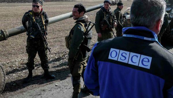 Člen zvláštní mise OBSE na Ukrajině - Sputnik Česká republika