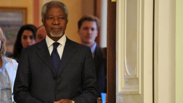 Bývalý generální tajemník OSN Kofi Annan - Sputnik Česká republika