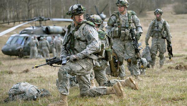 Cvičení amerických vojáků. Ilustrační foto - Sputnik Česká republika