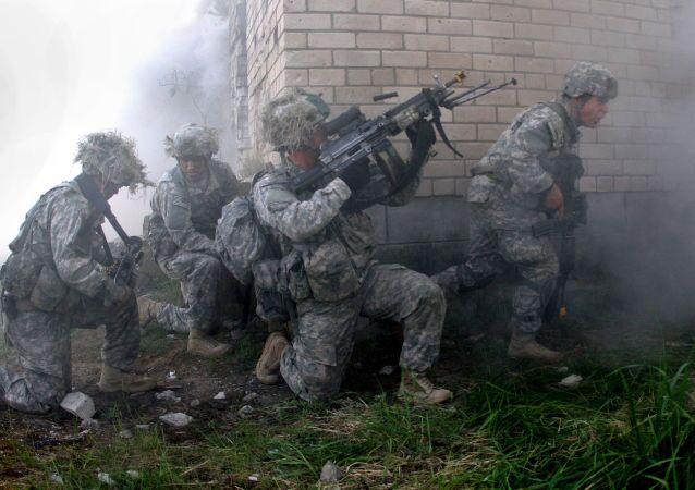 Cvičeni americké armády v Litvě