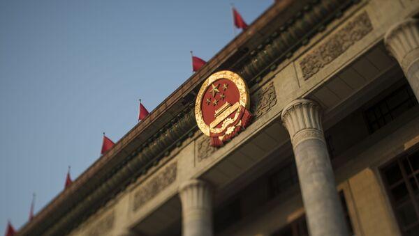 Velký sál lidu v Pekingu - Sputnik Česká republika