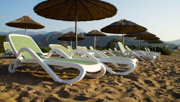 Pláž v Turecku - Sputnik Česká republika