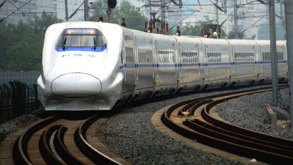 Скоростной поезд в Пекине - Sputnik Česká republika