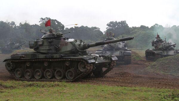 Tchajwanský tank M60-A3 - Sputnik Česká republika