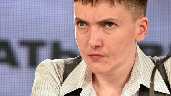 Naděžda Savčenková - Sputnik Česká republika