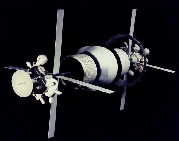 Vesmírná utopie budoucnosti od umělců minulosti - Sputnik Česká republika