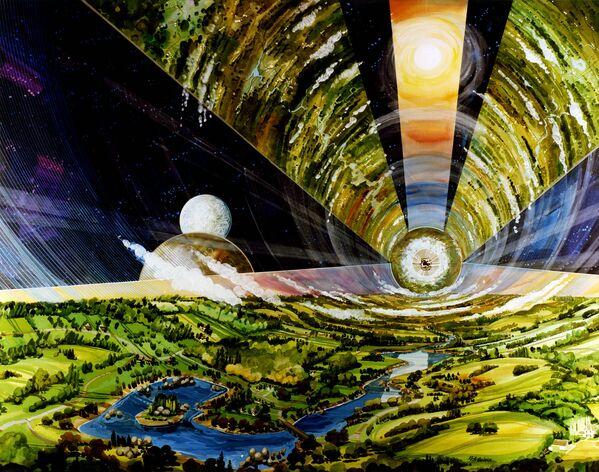 .Vesmírná utopie budoucnosti od umělců minulosti - Sputnik Česká republika