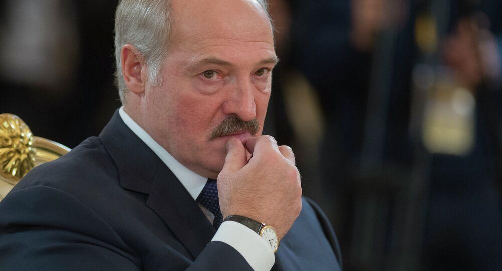Běloruský prezident Alexandr Lukašenko