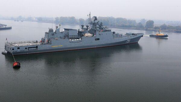 Fregata Admirál Essen - Sputnik Česká republika
