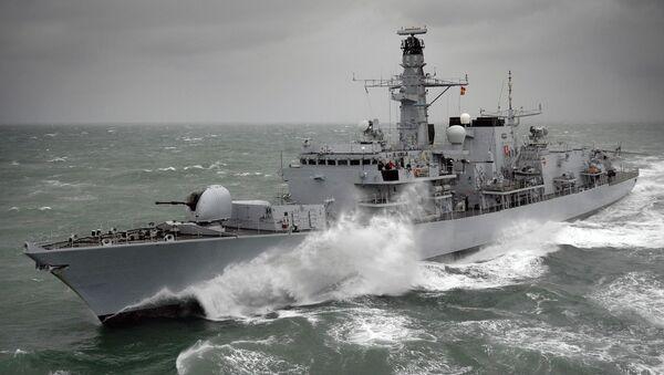 Fregata HMS Kent F78 - Sputnik Česká republika