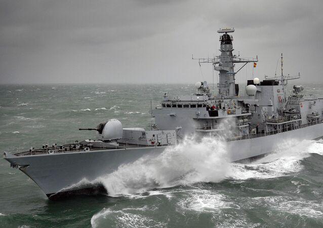 Fregata HMS Kent F78