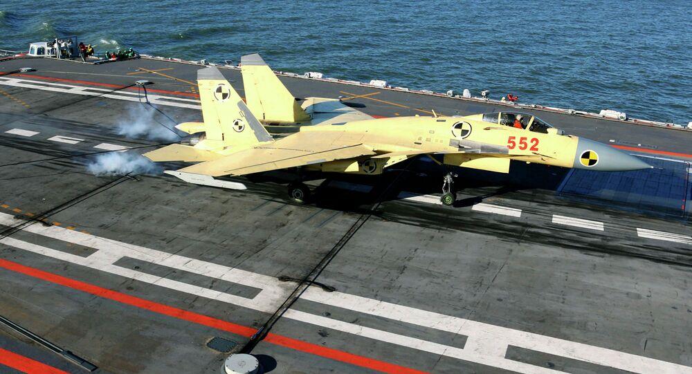 Čínský stíhací letoun J-15