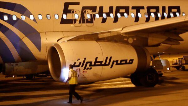Letadlo společnosti Egyptair - Sputnik Česká republika