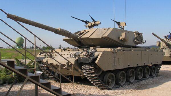 Izraelský tank Magach - Sputnik Česká republika