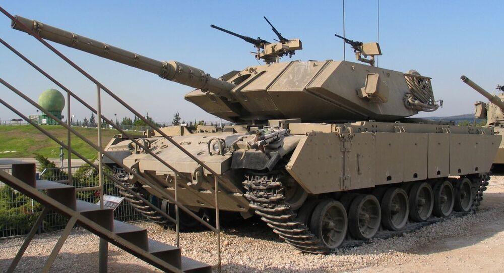 Izraelský tank Magach