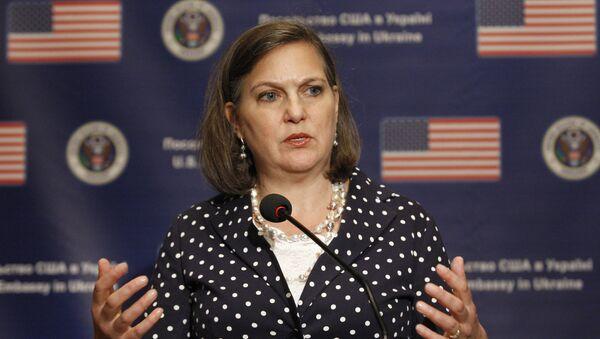 Pomocnice ministra zahraničí USA pro evropské a euroasijské záležitosti Victoria Nulandová - Sputnik Česká republika