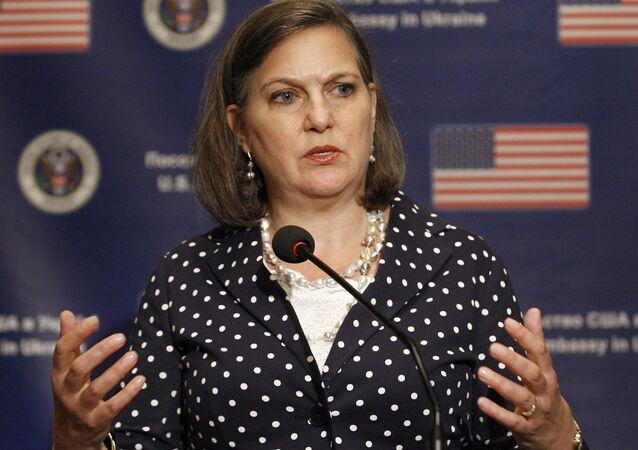 Pomocnice ministra zahraničí USA pro evropské a euroasijské záležitosti Victoria Nulandová