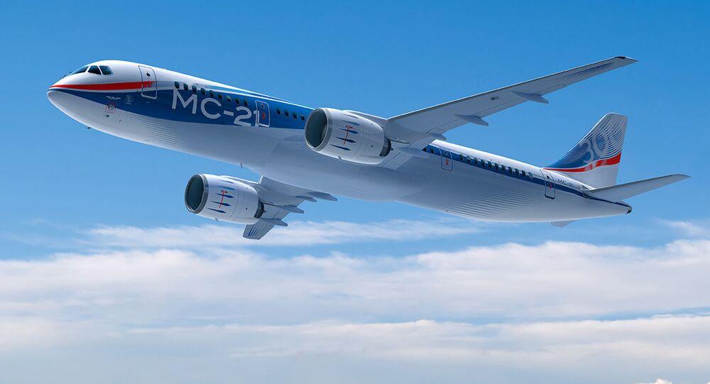 Letadlo středního doletu MS-21