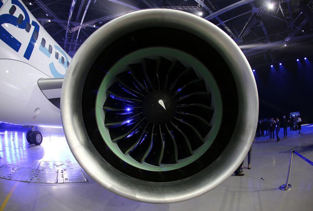 Prezentace nového dopravního letadla MS-21