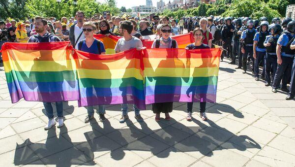 Gay-Parade - Sputnik Česká republika