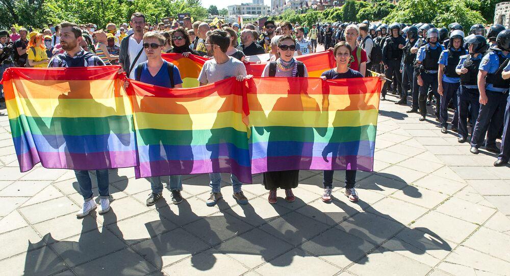 Gay-Parade v Kyjevě, 2015