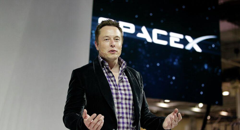Elon Musk, šéf společnosti SpaceX
