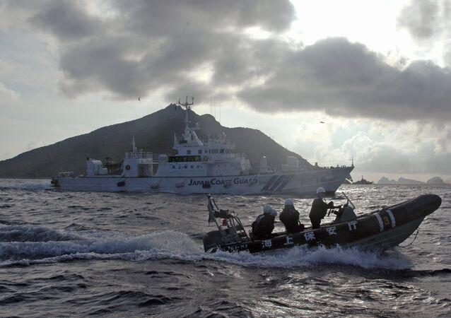 Japonská pobřežní ochrana u Senkaku