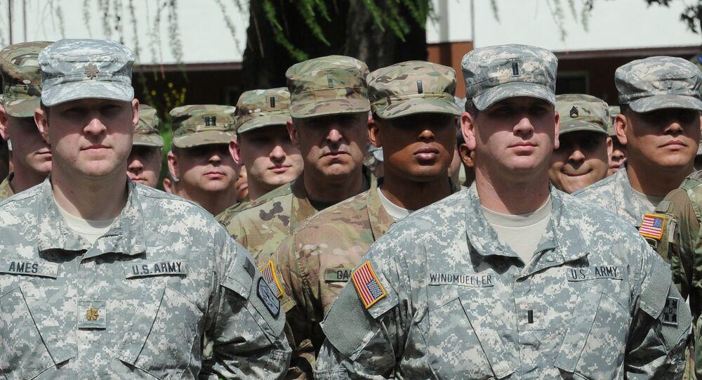 Američtí vojáci během cvičeni NATO