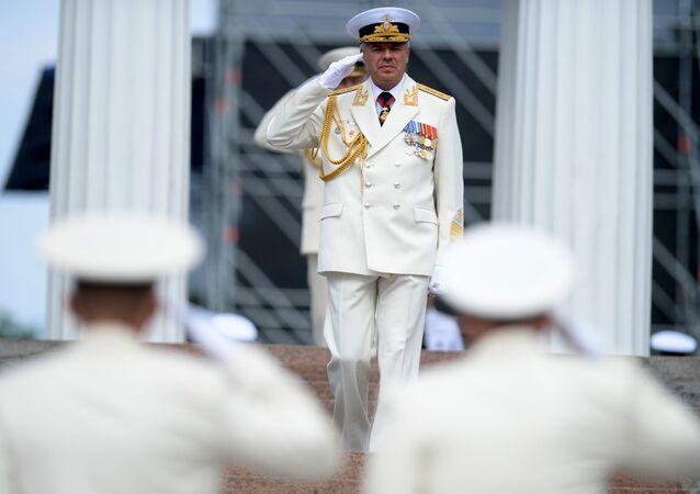 Velitel ruské Černomořské flotily Alexandr Vitko