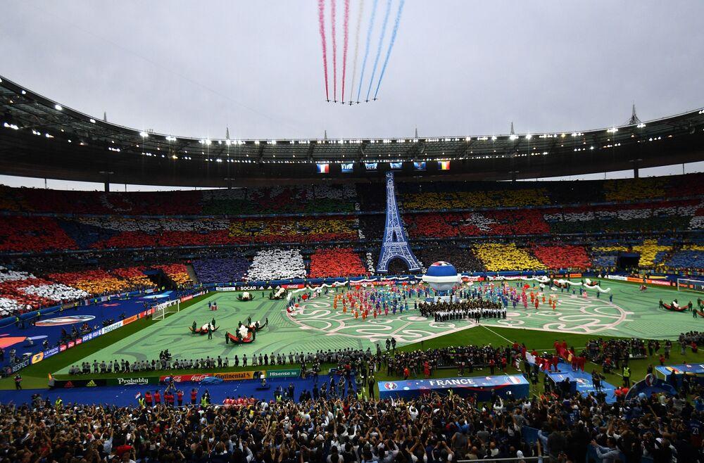 Zahájení Mistrovství Evropy ve fotbale 2016