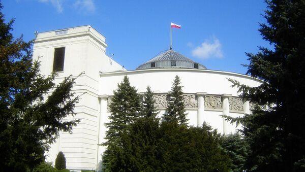 Sejm Polské republiky - Sputnik Česká republika