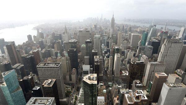 Pohled na mrakodrapy v New Yorku - Sputnik Česká republika