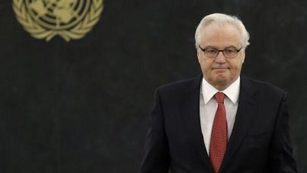 Stálý zástupce RF při OSN Vitalij Čurkin - Sputnik Česká republika