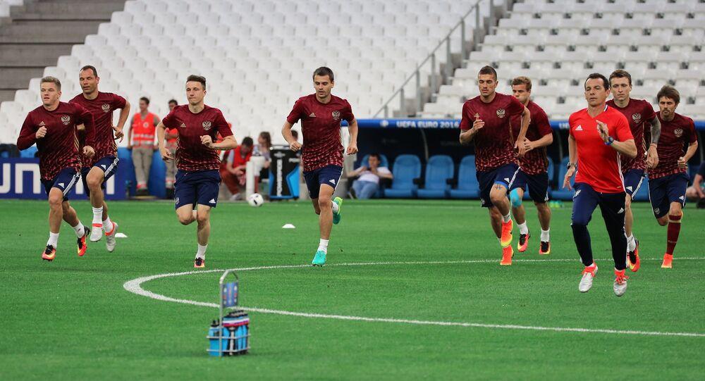 Ruská fotbalová reprezentace